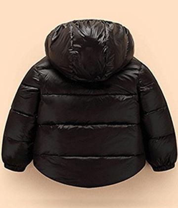 Kinder winterjacke baby Jungen Mädchen Daunenjacken Trenchcoat mit Kapuzen -