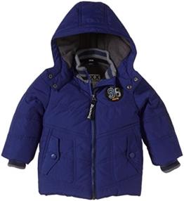 Mexx Baby - Jungen Jacke Outerwear, Gr. 86, Blau (Moon Melon Blue 460) -