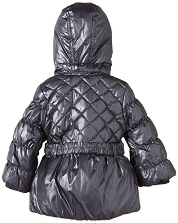 Mexx Baby - Mädchen Jacke Mini Girls Outerwear, Gr. 80, Silber (Metallic Dark Silver 043) -