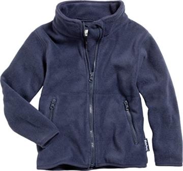 Playshoes Unisex - Baby Jacke Fleece-Jacke aus hochwertigem Fleece in blau oder pink von Playshoes, Art. 420011, Gr. 80, Blau (11 marine) -