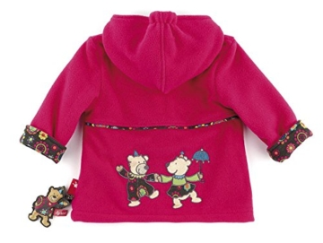 sigikid 146302 Fleecejacke rosa gefüttert, Baby (74) -