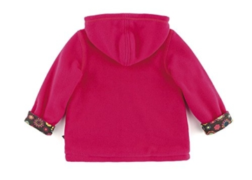 sigikid 146403 Fleecejacke rosa gefüttert, Mini (98) -