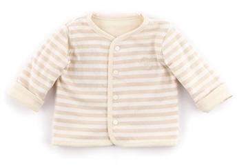 Sigikid Unisex - Baby Jacke Wendejacke, New Born 152201, Einfarbig, Gr. 68, Beige (Seedpearl 061) -