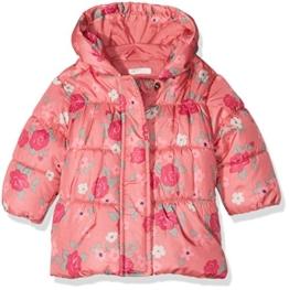 United Colors of Benetton Baby-Mädchen Jacke 2AW55330E, Rosa (Pink Flower Print), 74 (Herstellergröße: 68) -