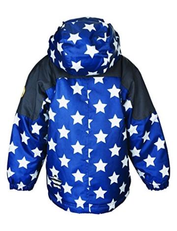 Racoon Jungen Jacke Sofus Boy Star Winterjacke (Wassersäule 9.000), Blau (Ensing Blue Ens), 104 -