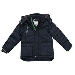 SALT AND PEPPER Jungen Jacke Outdoorjacket Farmer, Blau (Denim Blue Melange 498), 116 (Herstellergröße: 116/122) -