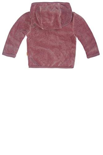 Steiff Unisex Baby Jacke Nicky 1/1 Arm, Gr. 62, Violett (dusky orchid|purple 7982) -