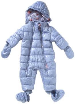 MEXX Baby - Mädchen Schneeanzug K1REA981, Gr. 62, Blau (421) -